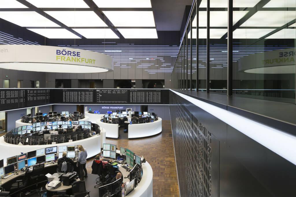 Deutsche Börse, Frankfurter Börse, Handelssaal, Parkett, DAX, Händler, Bild: Deutsche Börse, © Aussendung (23.10.2017)