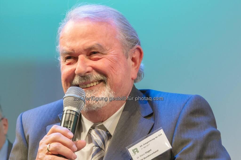 Österreichischer Behindertenrat: Ehrenpräsident Dr. Klaus Voget zum 70. Geburtstag (Fotograf: Michael Janousek / Fotocredit: Österreichischer Behindertenrat), © Aussender (23.10.2017)