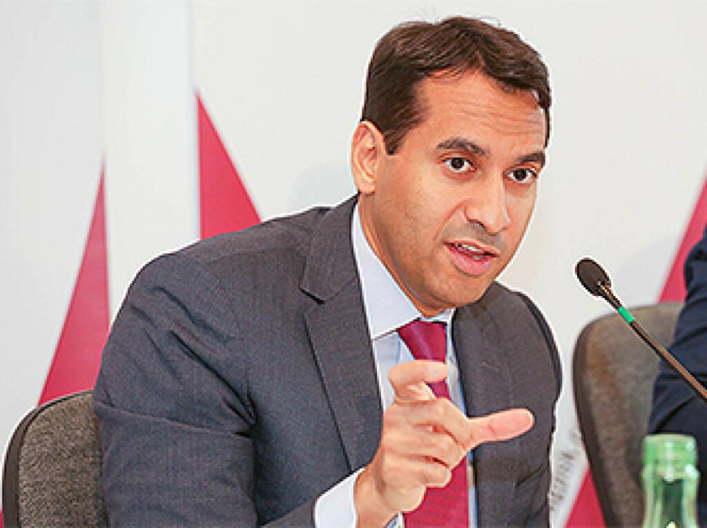 Anas Abuzaakouk, Chief Executive Officer, Bawag, Fotocredit: Bawag, © Aussender (24.10.2017)