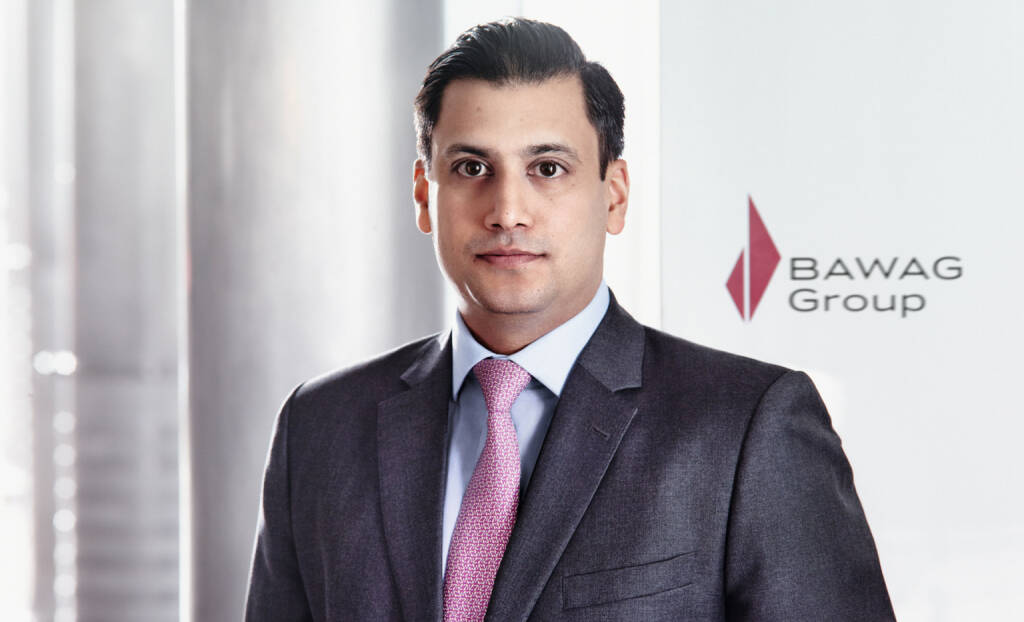 Sat Shah, Chief Operating Officer, Bawag, Fotocredit: Bawag, © Aussender (24.10.2017)