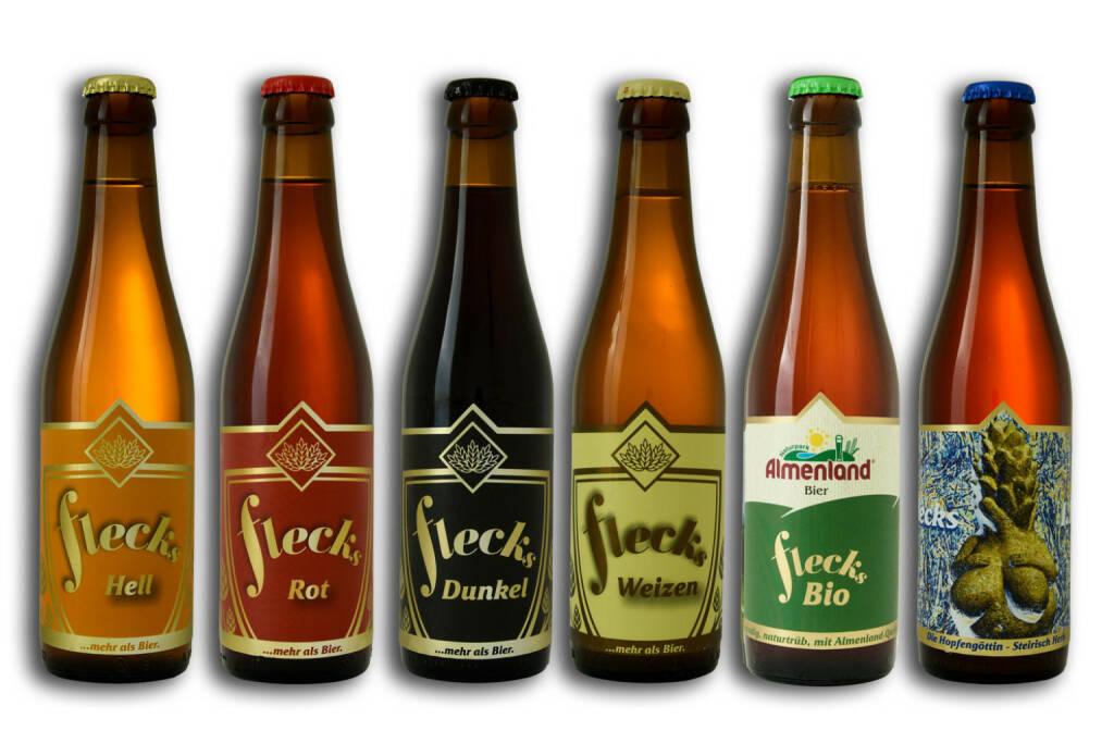 """Die Craft-Bier-Pioniere """"FLECKS"""" aus der Steiermark fokussieren auf stärkeres Wachstum auch am Heimatmarkt Österreich. Mit weiteren Investitionen in Österreichs modernste Craft-Bier-Brauerei und den Vertrieb der Genuss-Biere ist das ökologisch ausgerichtete Familienunternehmen auf Expansionskurs. Investoren können sich am Crowdfunding auf Green Rocket mit fünf Jahren Laufzeit und bis zu 6,5 % Fixzins p.a. sowie Sachboni beteiligen. Copyright: FLECKS, © Aussendung (30.10.2017)"""