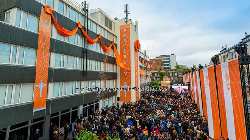 Eröffnung und Banddurchschneidung Amsterdam - SCIENTOLOGY MISSION WIEN: Scientology - Die am schnellsten wachsende Religion der Welt (Fotocredit: Scientology Int.), © Aussender (02.11.2017)