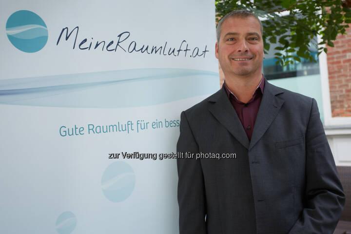Thomas Schlatte, Plattformsprecher MeineRaumluft.at - Unabhängige Plattform MeineRaumluft: Heizsaison: Trockene Luft ist Gift für unsere Haut! (Fotocredit: MeineRaumluft.at)
