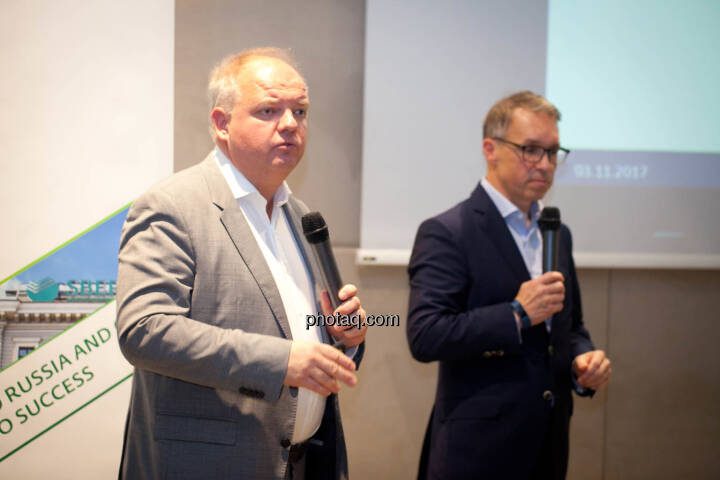 Lukas Stipkovich (Fondsmanagement, Sigma Investment), Alfred Reisenberger (Research, Sigma Investment) - (Fotocredit: Michaela Mejta for photaq.com)