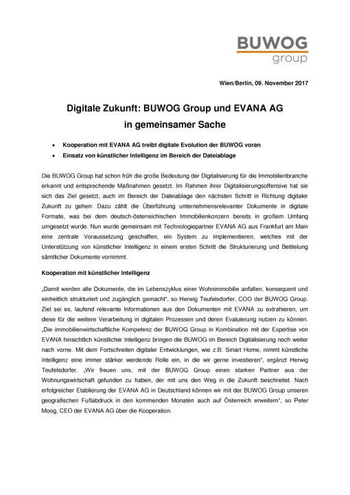 Buwog nutzt künstliche Intelligenz, Seite 1/2, komplettes Dokument unter http://boerse-social.com/static/uploads/file_2386_buwog_nutzt_kunstliche_intelligenz.pdf