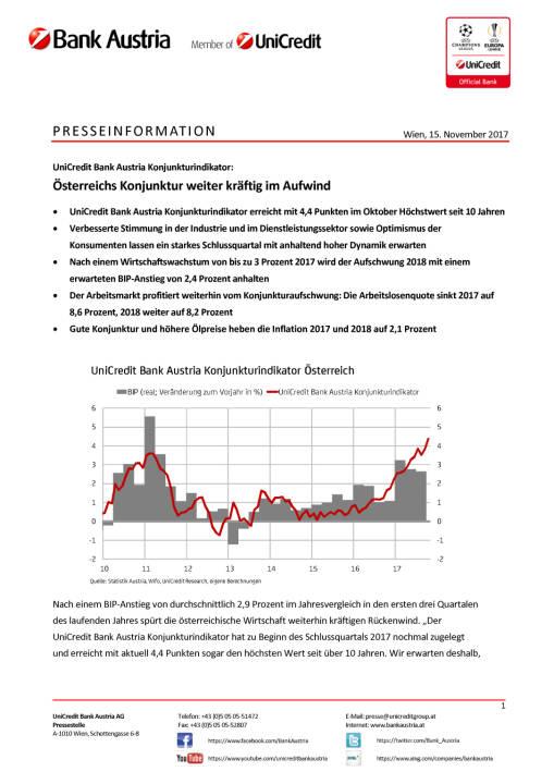 Österreichs Konjunktur weiter kräftig im Aufwind, Seite 1/5, komplettes Dokument unter http://boerse-social.com/static/uploads/file_2393_osterreichs_konjunktur_weiter_kraftig_im_aufwind.pdf