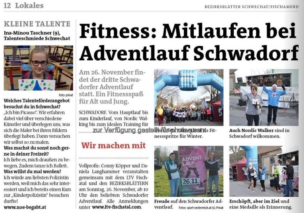Adventlauf Schwadorf (16.11.2017)