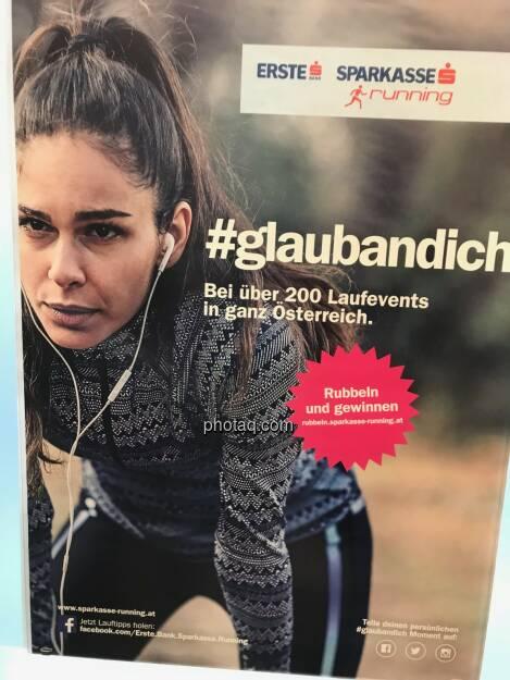 Erste s running - #glaubandich - Bei über 200 Laufevents in ganz Österreich, © photaq.com (16.11.2017)