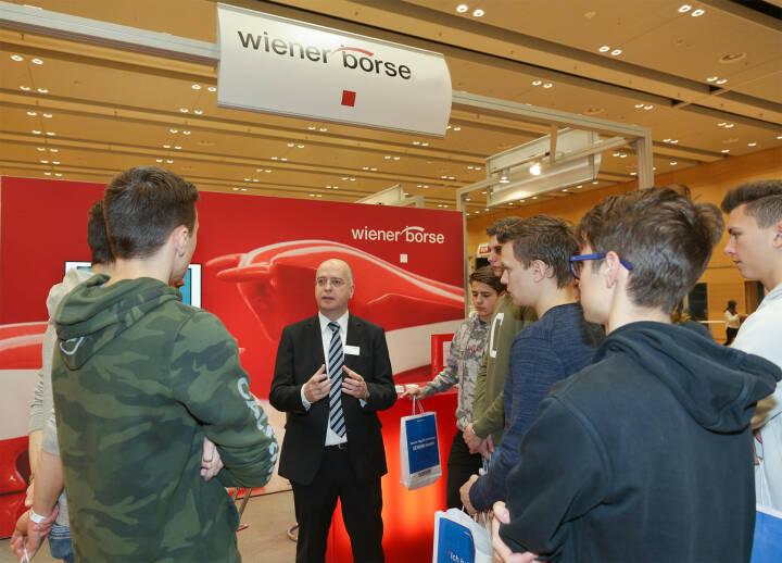 Am Gewinn Info Day werden Schüler informiert; Bild: Wiener Börse