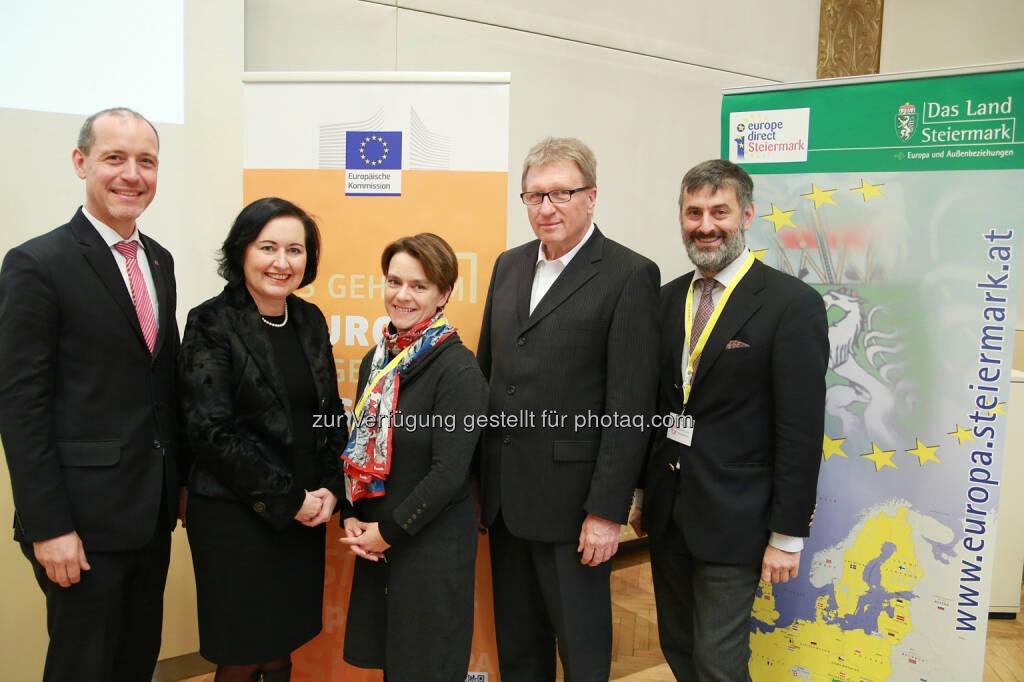 Vertretung der EU-Kommission in Österreich: Europa in die Schule bringen (Fotocredit: Europäische Kommission - Vertretung in Ö/APA-Fotoservice/Hautzinger), © Aussender (21.11.2017)
