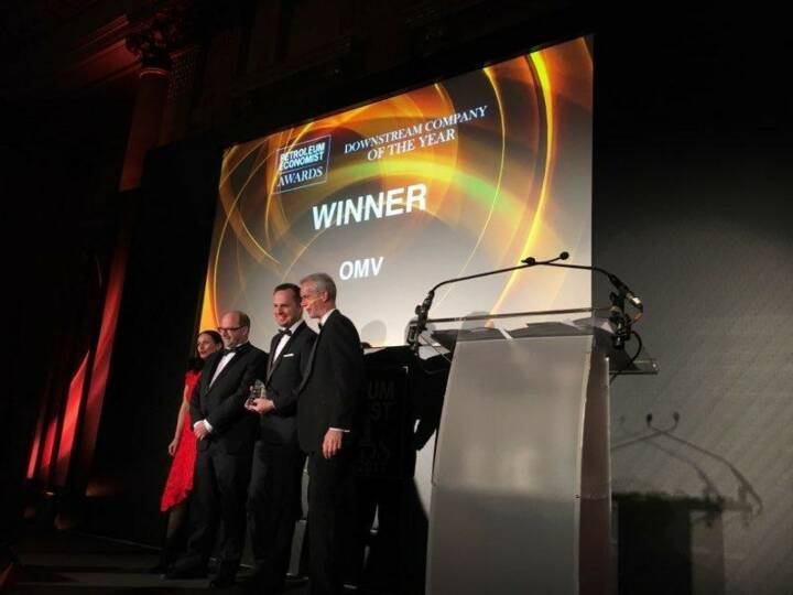 OMV We are very proud to announce that OMV has been recognized as Downstream Company of the Year at the  Petroleum Economist Awards 2017. More info: http://bit.ly/2jeyPBh
