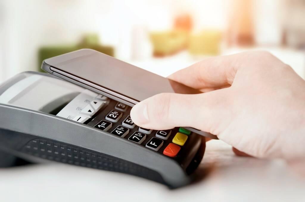 Handy-Bezahlung, NFC, Credit: Erste Bank, © Aussendung (23.11.2017)