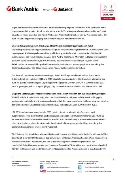 Österreichischer Arbeitsmarkt würde von mehr Mobilität der Arbeitskräfte profitieren, Seite 2/4, komplettes Dokument unter http://boerse-social.com/static/uploads/file_2397_osterreichischer_arbeitsmarkt_wurde_von_mehr_mobilitat_der_arbeitskrafte_profitieren.pdf (23.11.2017)
