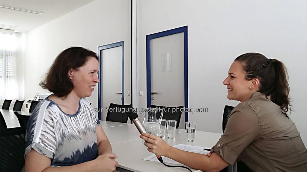 Höchst molekulare Einsichten gab es für mich beim Besuch von Assoz.-Prof. Dipl.-Ing. Dr. Barbara Wessner an der Sportuni Wien. (24.11.2017)