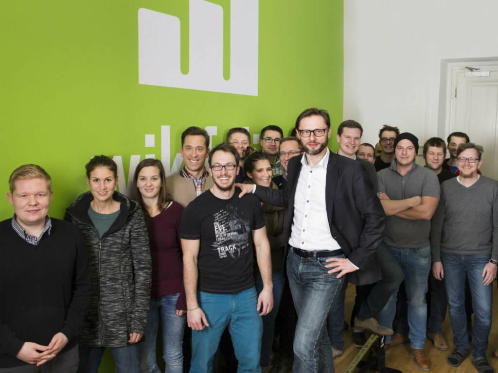 Das Magazin trend hat das FinTech-Unternehmen wikifolio.com zu Österreichs Start-up des Jahres gekürt. Credit: wikifolio, © Aussendung (27.11.2017)