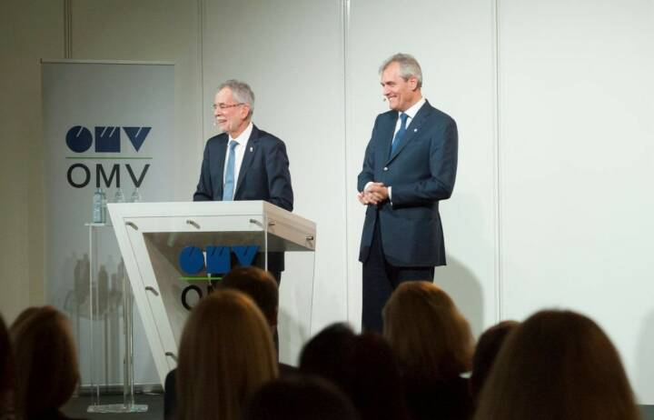 OMV: It was a great honor to welcome the Austrian Federal President Alexander Van der Bellen at the OMV Head Office today for a Meet & Greet with our employees.