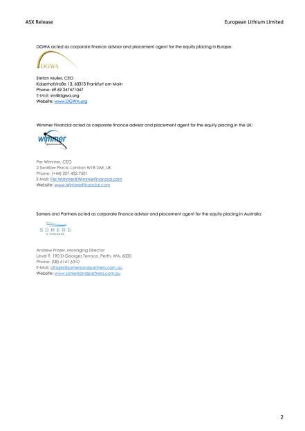 Kapitalerhöhung European Lithium, Seite 2/2, komplettes Dokument unter http://boerse-social.com/static/uploads/file_2410_kapitalerhohung_european_lithium.pdf (06.12.2017)