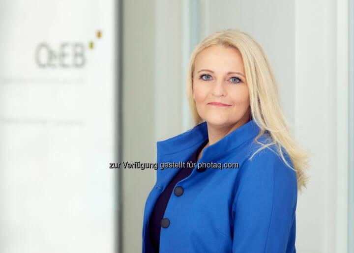 Sabine Gaber - Sabine Gaber folgt Andrea Hagmann als Mitglied des Vorstandes OeEB Oesterreichische Entwicklungsbank AG: Wechsel an der Spitze der Oesterreichischen Entwicklungsbank AG (OeEB) (Bild: OeEB/Häusler)