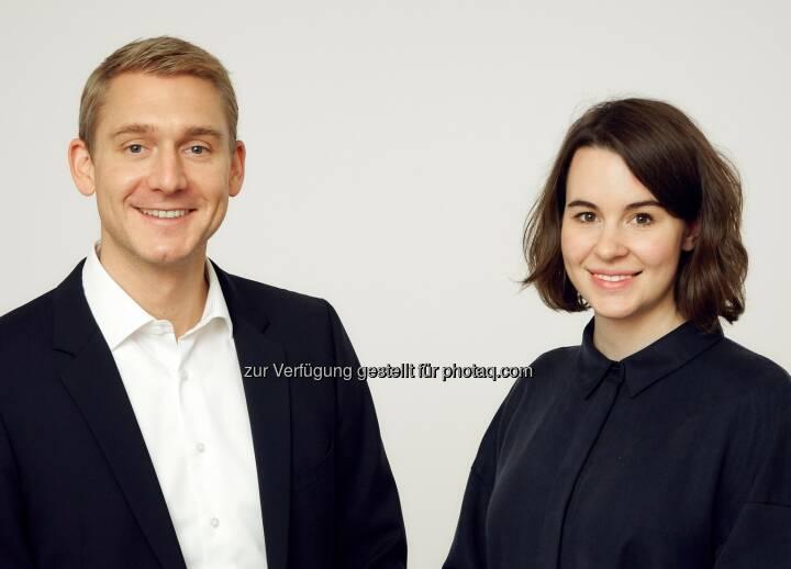 Wilhelm Baldia und Tara Bichler - McDonald's Österreich: Neues Kommunikationsteam bei McDonald's Österreich: Wilhelm Baldia und Tara Bichler (Bild: Christina Häusler / McDonald's)