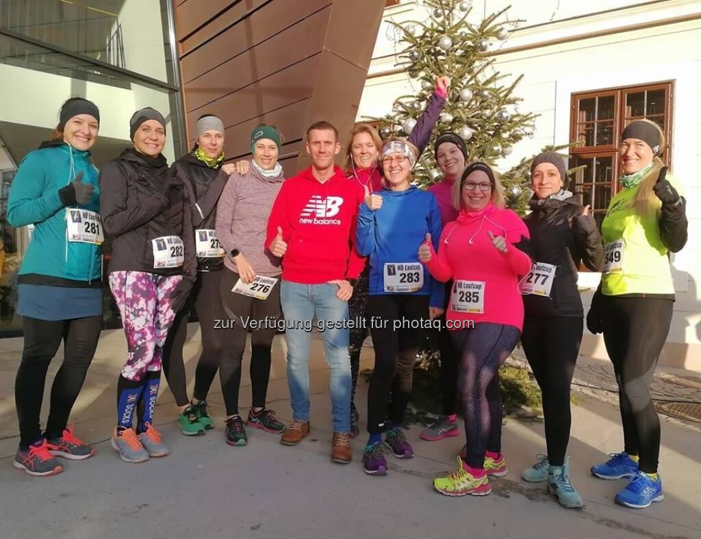 Das Team Run with Schritti  (17.12.2017)