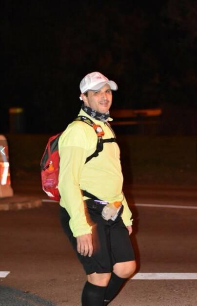 Roman Löwenherz Mein sportlicher Schnappschuss 2017. Bei der 3. Verpflegungsstation bei WRU war ich selbst schon ziemlich erledigt, aber immer motiviert zu Finishen (29.12.2017)