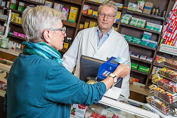 Kontakloses Bezahlen mit Bankomatkarte, NFC, Near Field Communication, Credit: PSA