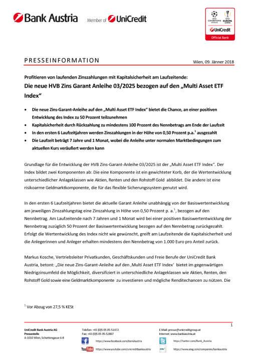"""Die neue HVB Zins Garant Anleihe 03/2025 bezogen auf den """"Multi Asset ETF Index"""", Seite 1/3, komplettes Dokument unter http://boerse-social.com/static/uploads/file_2414_die_neue_hvb_zins_garant_anleihe_032025_bezogen_auf_den_multi_asset_etf_index.pdf"""