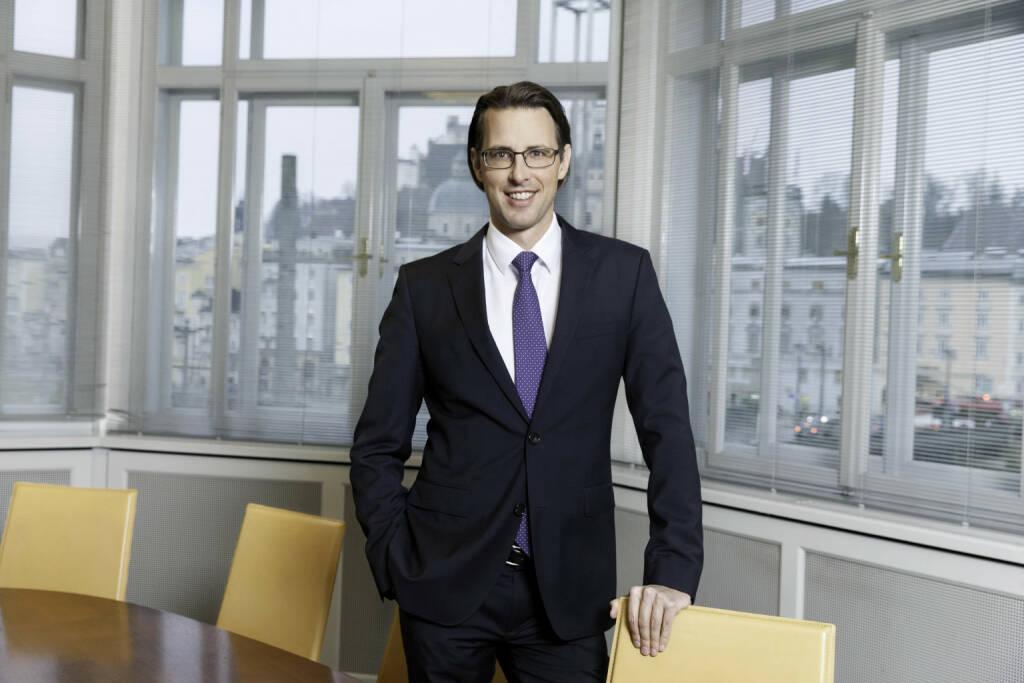 """Nils Kottke, Mitglied des Vorstandes im Bankhaus Spängler: """"Wir raten Anlegern weiterhin zu einem gut diversifizierten Portfolio und aktivem Risikomanagement."""" Bildquelle: Bankhaus Spängler (12.01.2018)"""
