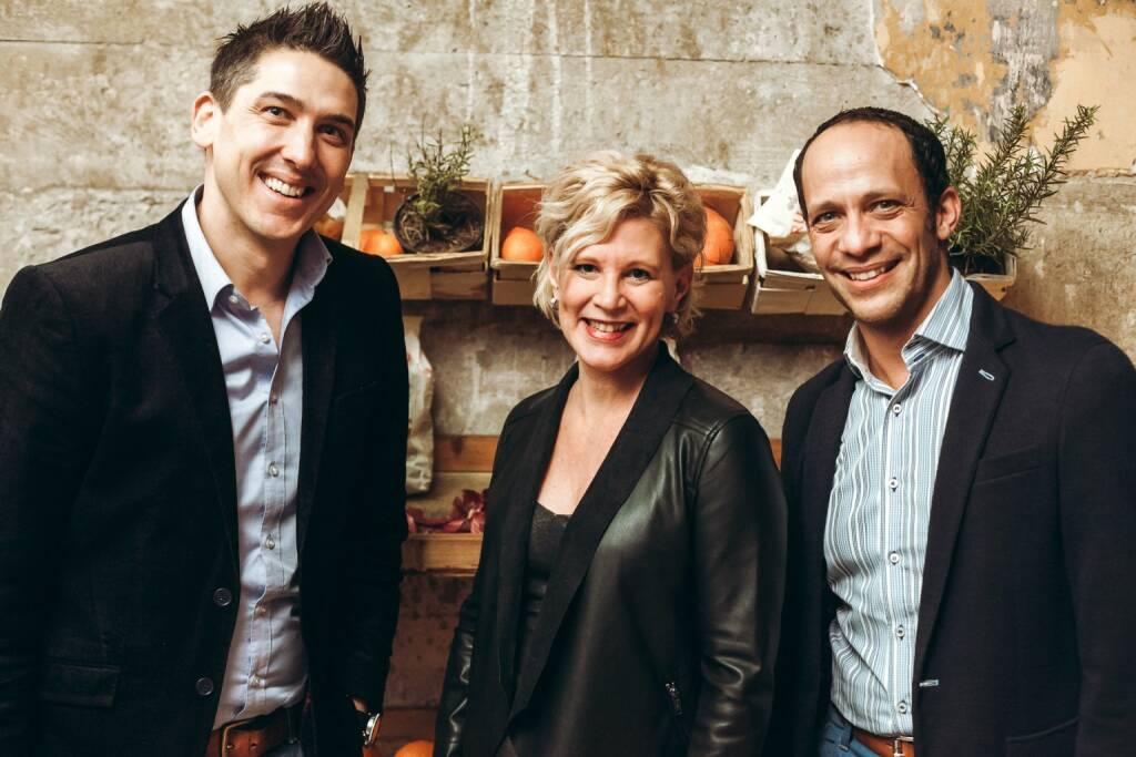 Matthias Seiringer (ORF-Enterprise), Martina Wiesenbauer-Vrublovsky (APA OTS), Thomas Bokesz (IPG) (© iab austria/Philipp Lipiarski)