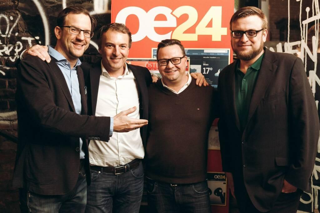 Kreislsler, iab austria-Präsident André Eckert, Christopher Sima (OE24), Duft, (© iab austria/Philipp Lipiarski)