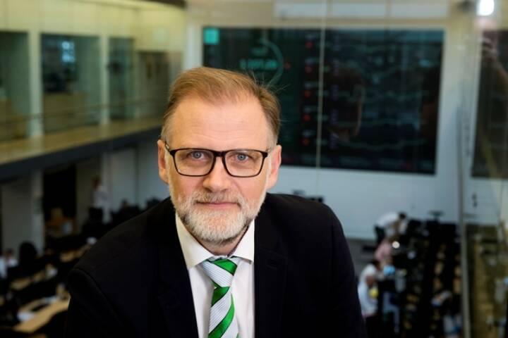 Fredslund Madsen, Chefstratege der dänischen Jyske Bank Gruppe, Foto: Jyske
