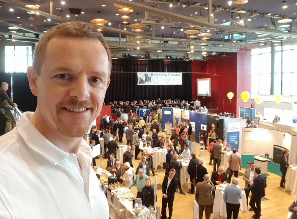 Christian-Hendrik Knappe, Deutsche Bank X-Markets, am Börsentag in Dresden  (21.01.2018)