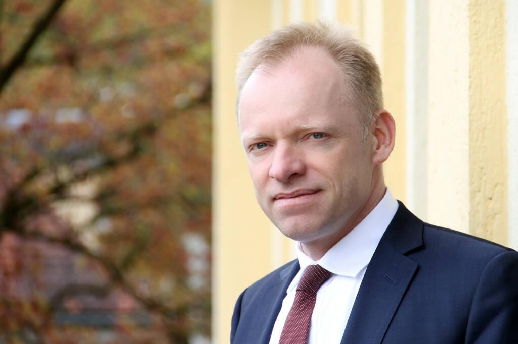 Clemens Fuest, Präsident des ifo Instituts, Bildquelle: ifo, © Aussender (25.01.2018)