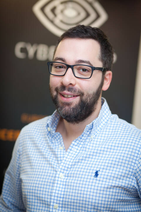 Avi Kravitz, CTO und Gründer CyberTrap GmbH, Foto: Michaela Mejta