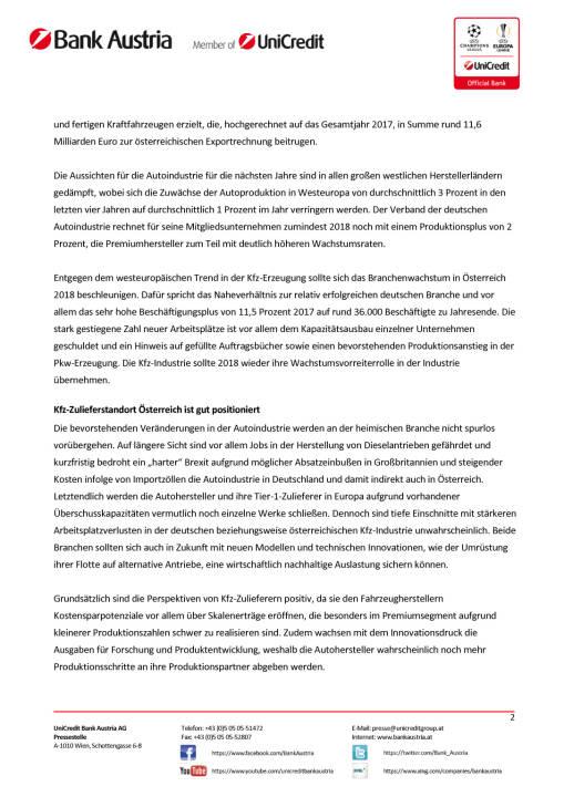 Kfz-Industrie beschleunigte im zweiten Halbjahr 2017 zu Produktionsplus, Seite 2/3, komplettes Dokument unter http://boerse-social.com/static/uploads/file_2419_kfz-industrie_beschleunigte_im_zweiten_halbjahr_2017_zu_produktionsplus.pdf