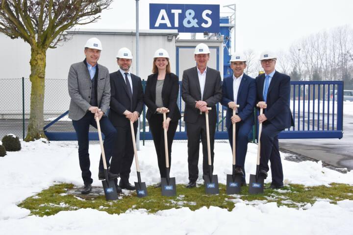 AT&S-Werk Fehring, Ausbau, Spatenstich, CEO Andreas Gerstenmayer, Credit: AT&S