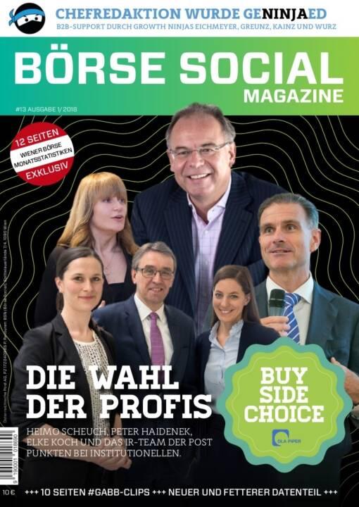 Börse Social Magazine #13
