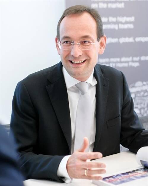 Erich Lehner, Managing Partner Markets bei EY und verantwortlich für den Bereich Mittelstand, Fotorechte: © EY, © Aussender (12.02.2018)