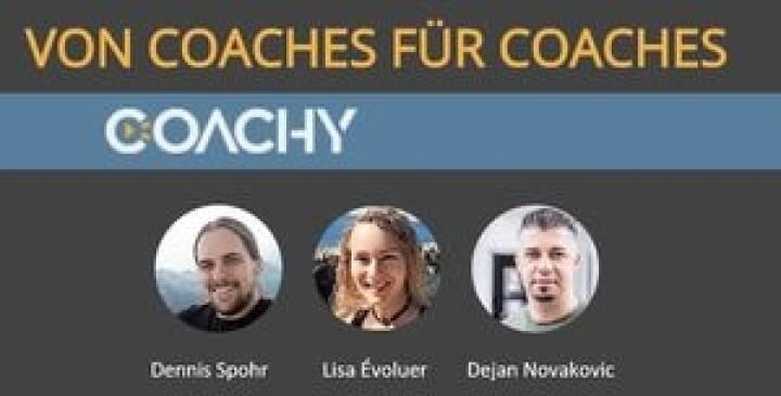 Coachy ist ein Tool für die einfache Vermarktung von Online-Kursen, Tutorials und digitalen Produkten und wurde von Dennis Spohr, Lisa Évoluer und Dejan Novakovic entwickelt. Die Plattformsprache ist komplett auf Deutsch und besticht in erster Linie durch die einfache und intuitive Bedienung, © Coachy