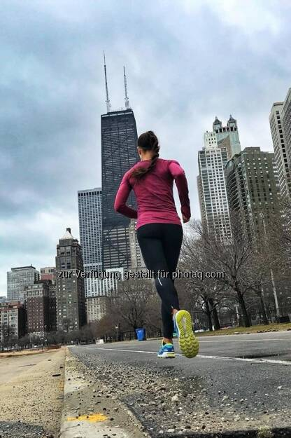 Chicago Lakefront Running/Biking Trail. (21.02.2018)
