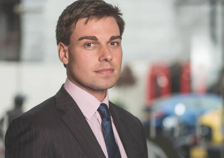 Charles Sunnucks, Assistant-Fondsmanager Emerging Markets bei Jupiter Asset Management, Bild: Jupiter