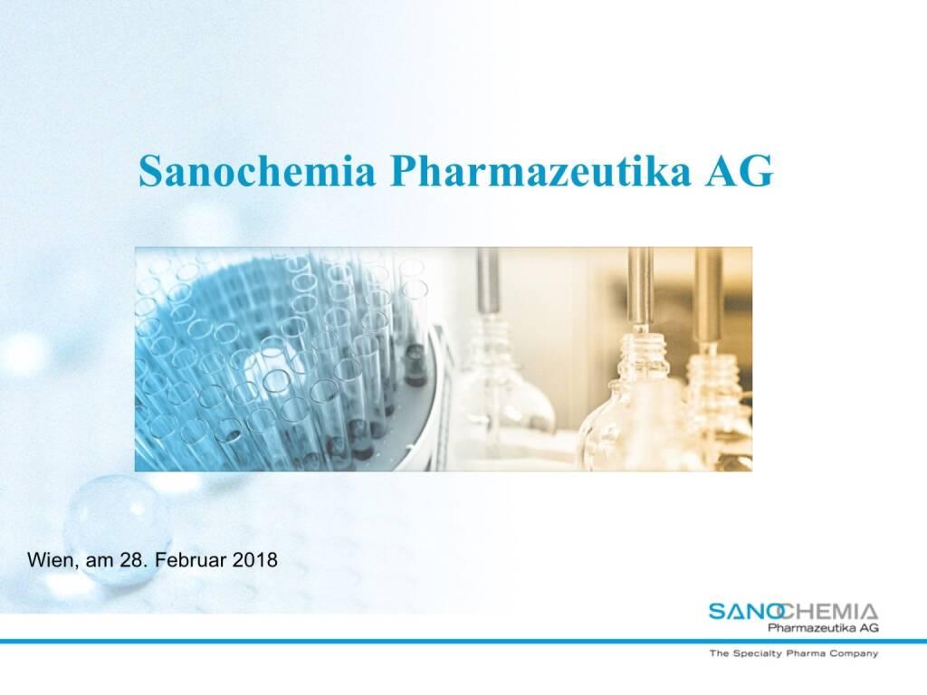 Präsentation Sanochemia - Pharmazeutika AG (27.02.2018)
