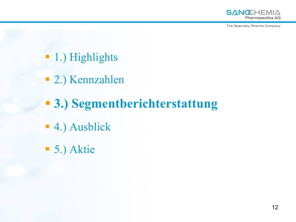 Präsentation Sanochemia - Segmentberichterstattung (27.02.2018)