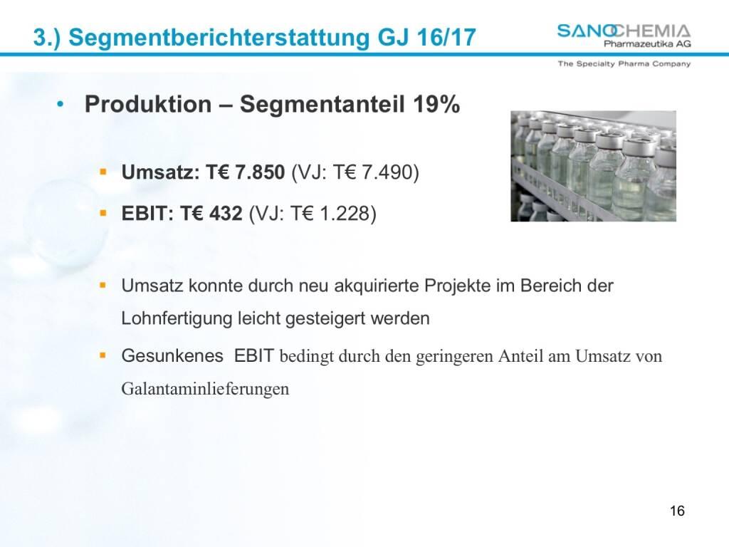 Präsentation Sanochemia - Produktion (27.02.2018)