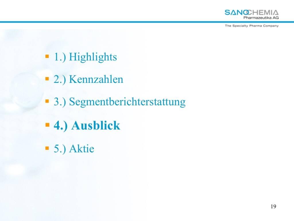 Präsentation Sanochemia - Ausblick (27.02.2018)