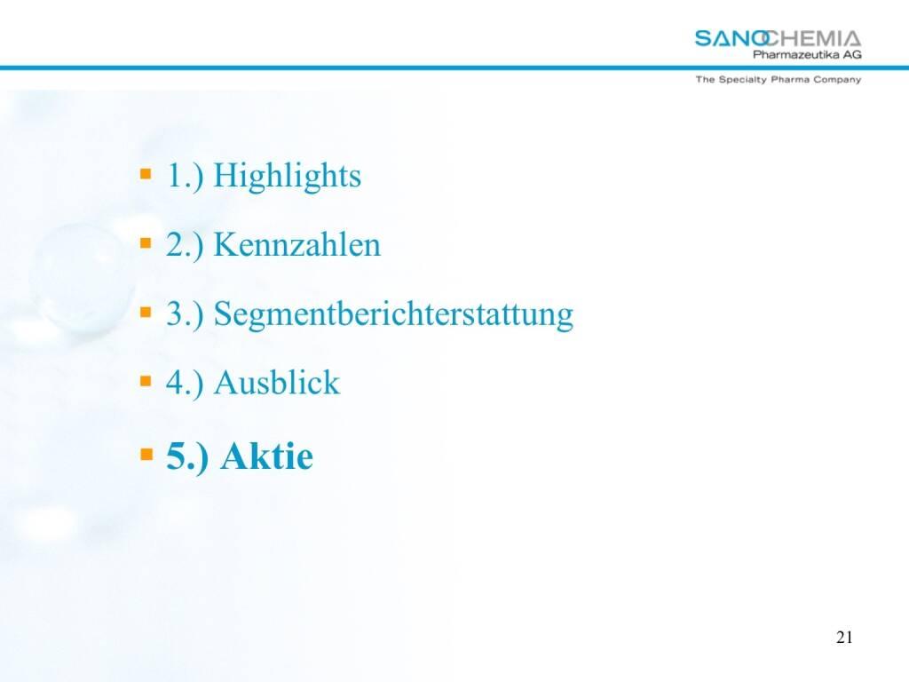 Präsentation Sanochemia - Aktie (27.02.2018)