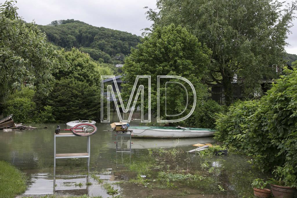 Hochwasser, Altenberg, © Martina Draper (03.06.2013)