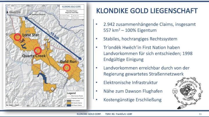 Präsentation Klondike - Liegenschaft