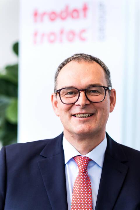 Trodat Trotec Gruppe hat mit Norbert Schrüfer neuen CEO, Fotocredit: Trodat Trotec Group