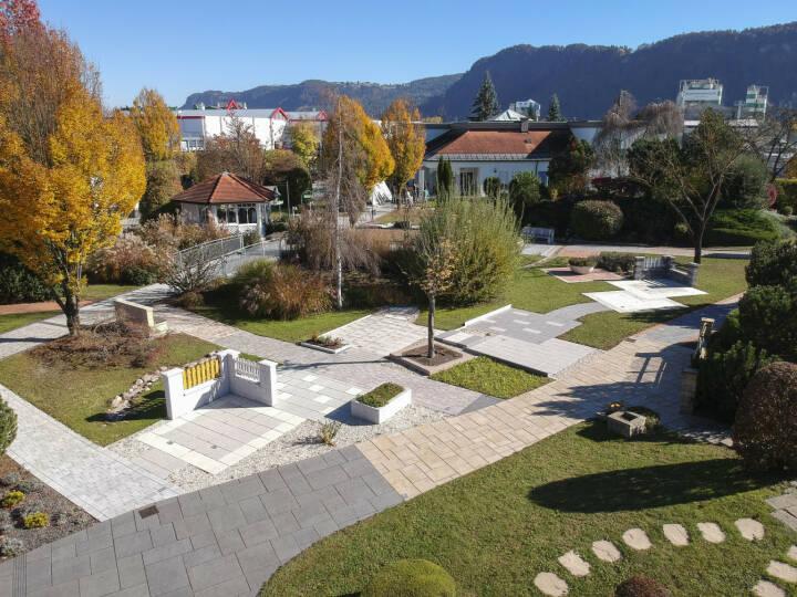 Semmelrock mit Mustergarten in Klagenfurt, Copyright: Semmelrock Gruppe